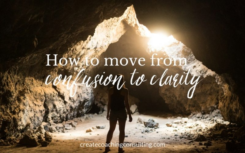 How to move from confusion to clarity