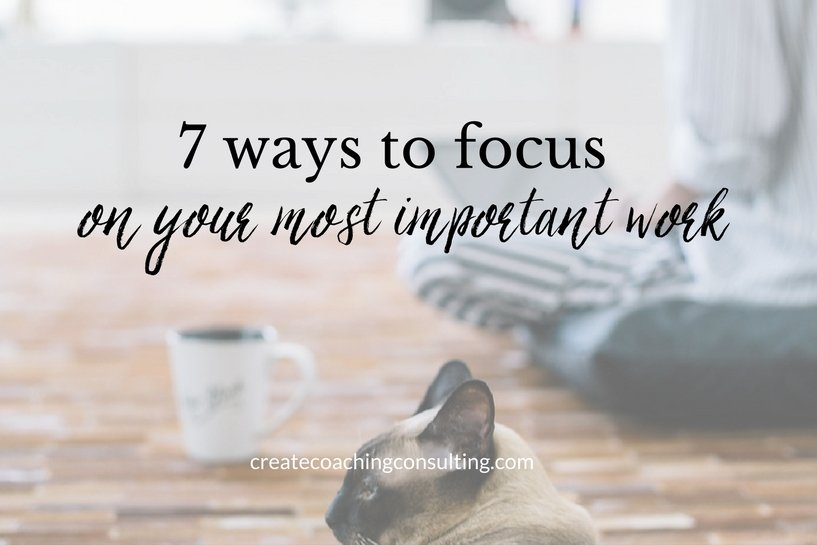 focus-most-important