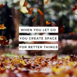 create space for better things