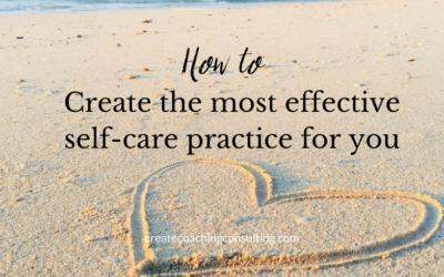 self-care practice