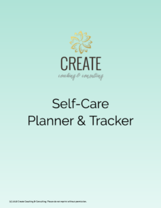 self-care-planner